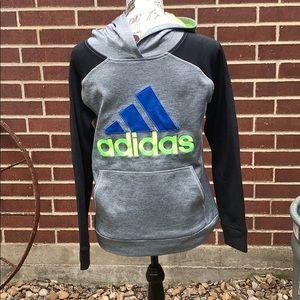 Boys Adidas Athletic hoodie.   0116